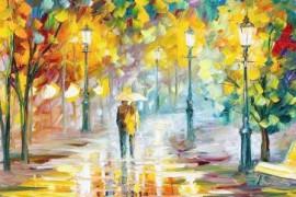 秋雨,是一叶流泪的诗
