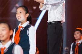 张杰带伤唱响百年经典 一曲《少年中国说》点燃全场