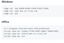 vlmcsd搭建的KMS服务器官方激活教程(新增Server 2019、Office 2019)