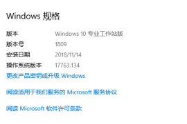 【MSDN】Windows 10 1809 、LTSC 2019、Server 2019 中英文2018年11月13日官方更新资源