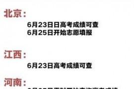 10余省份公布2019年高考放榜时间 贵州省6月23日可查分