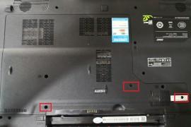 微星笔记本17.3寸GE70 2QE-802XCN拆机换硅脂教程