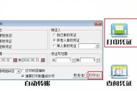 AC990会计核算软件打印凭证设置每页表数2个方法