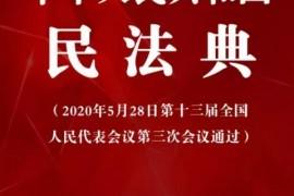 中华人民共和国民法典(全文)后附PDF版、Word版下载