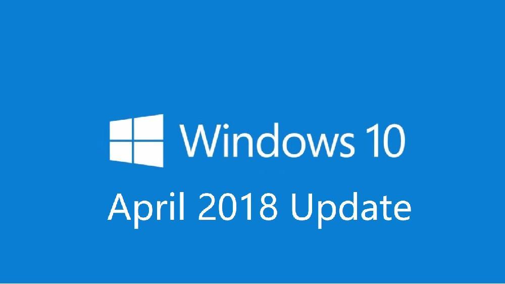 Windows 10 April 2018 Update 更新时间计划