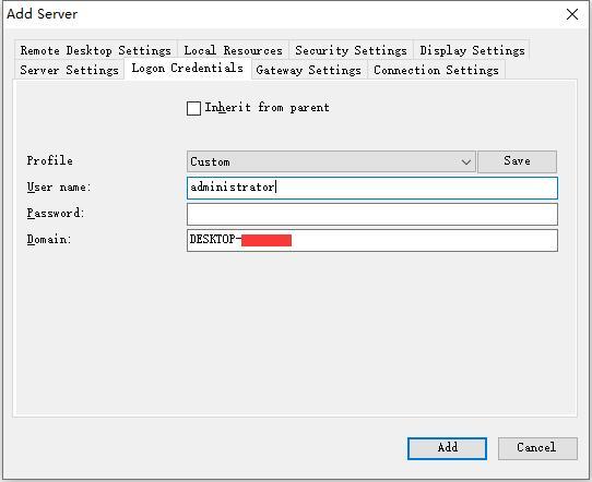 微软官方Remote Desktop Connection Manage 2.7(RDCMan)远程桌面批量管理工具下载和使用