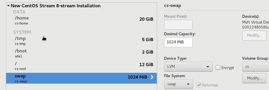 Hyper-V虚拟机安装CentOS8 boot版本和Cockpit Web控制台教程
