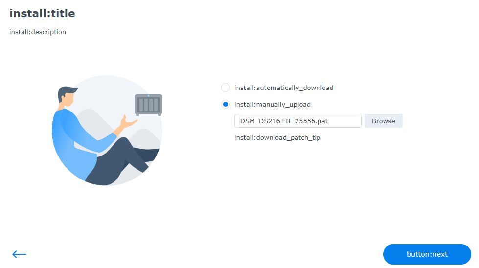 群晖DS216+II安装DSM 7.0 Beta降级为6.2.4教程